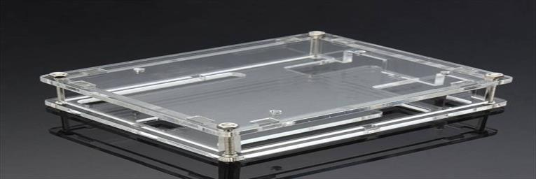 Transparent acrylic shell box