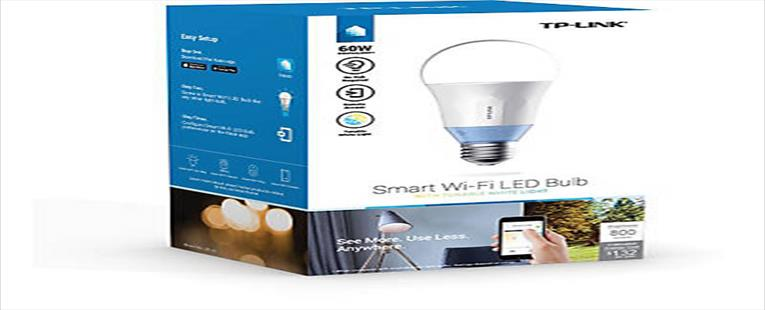TP-LINK® 60W Smart Wi-Fi LED Bulb with Tunable White Light (LB120)
