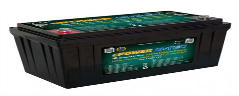 Enerdrive ePOWER B-TEC 125Ah Lithium Battery