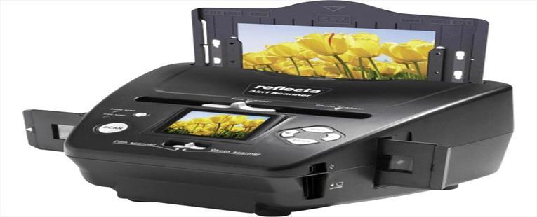 Slide scanner, Image scanner, Negative scanner Reflecta 3in1 Scanner 1800 dpi