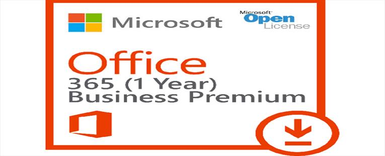 Microsoft Office 365 Business Premium - Subscription license ( 1 year ) - 1 user - hosted - Microsoft Qualified - MOLP: Open Business