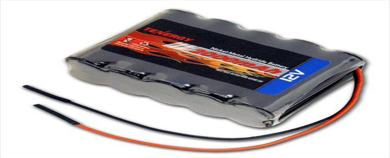 Tenergy 12V 2000mAh NiMH Battery Pack w/ Bare Leads
