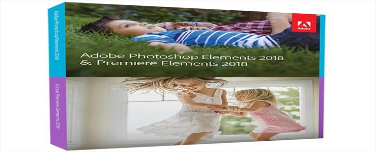 Adobe Photoshop & Premiere Elements 2018 - Student and Teacher Edition - Validation Required