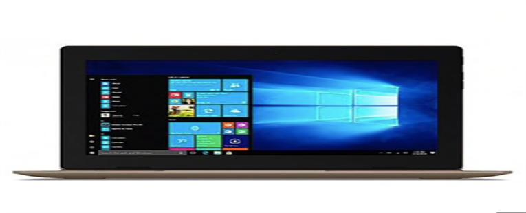 Lenovo Ideapad D330 2 em 1 Reconhecimento de Rosto do Tablet PC - BRONZE INTEL CELERON N4000 / 4GB + 64GB
