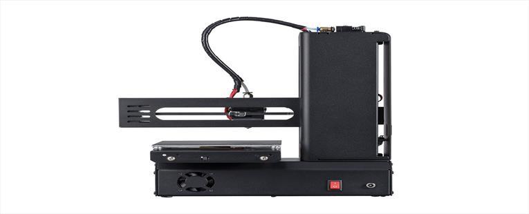 Monoprice MP Select Mini 3D Printer V2, Black