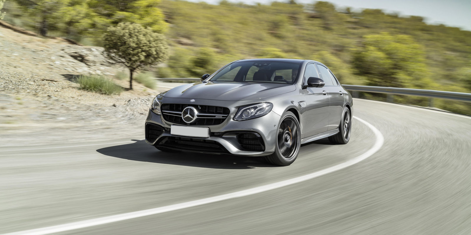 Mercedes AMG E63 V8-powered rocket ship with a classy interior -5 seats - 31 MPG