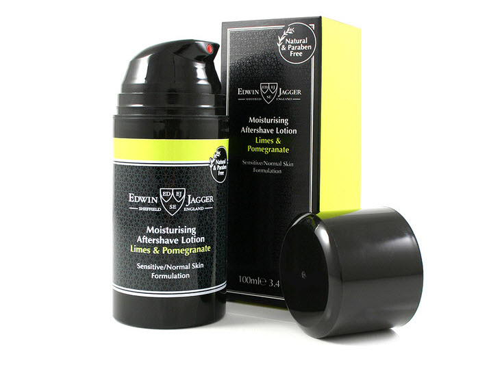 NATURAL AFTER SHAVE LOTION LIMES & POMEGRANATE