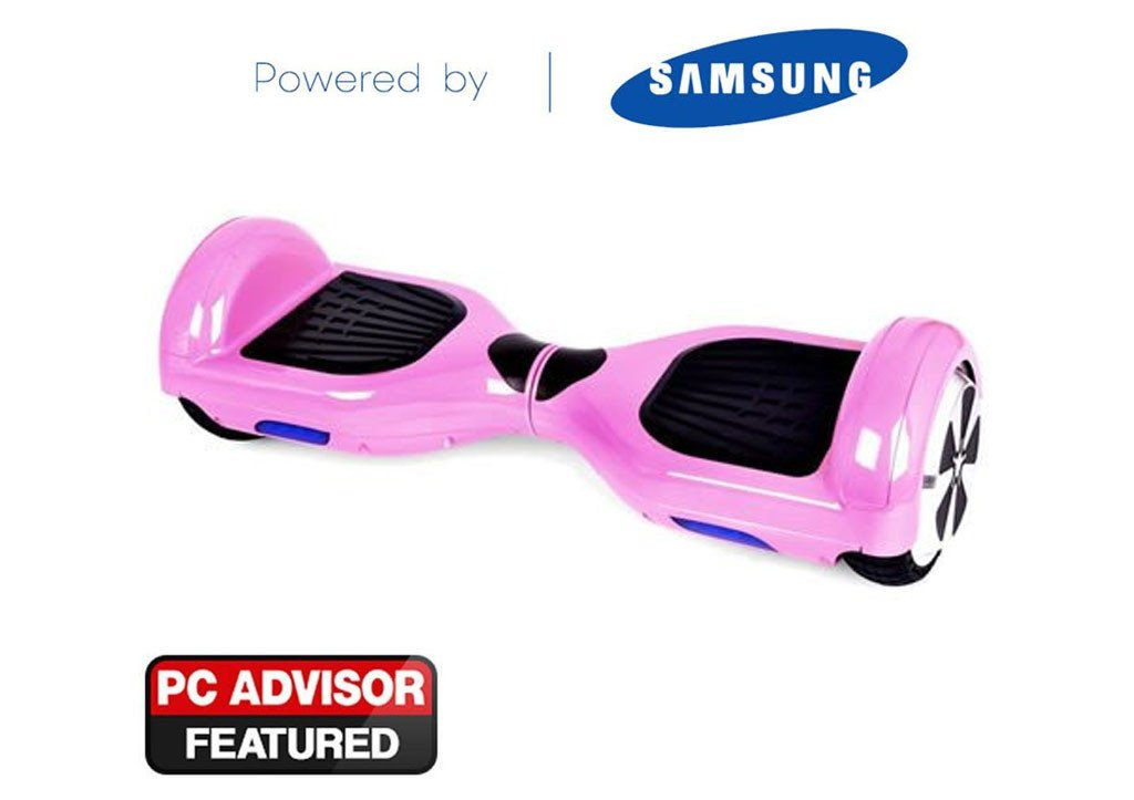 """Pink 6"""" Swegway Hoverboard - Free UK Shipping"""