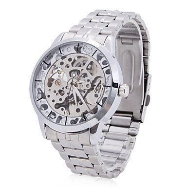Automatic Vault Silver Watch Free Shipping Worldwide