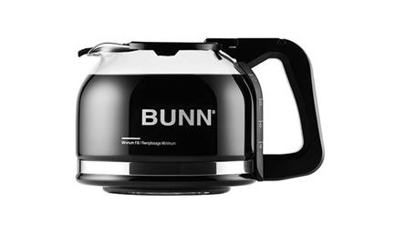 Bunn Pour-o-Matic Drip Free Coffee Pot (Glass, 10 Cup) |