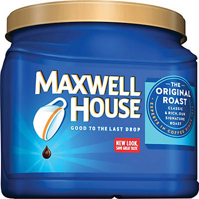 Maxwell House® Original Roast Ground Coffee; Regular, 30.6 oz. Can