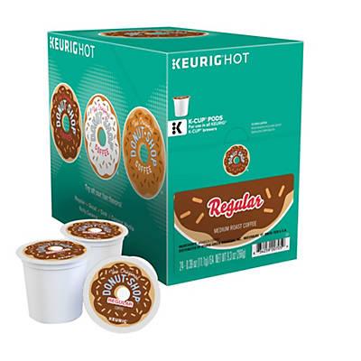 Donut Shop® K-Cup® Packs; 24/Box