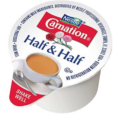 Dairy Creamers - Carnation® Half & Half, 0.375 oz. Cups, 180/Ct