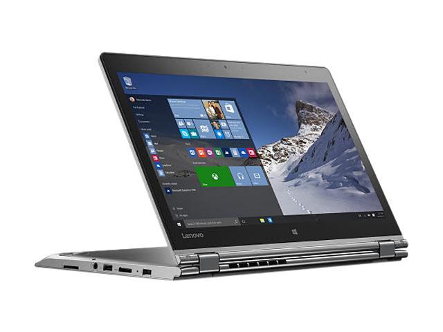 "Lenovo Thinkpad Yoga 460 20EM001MUS Intel Core i7 6th Gen 6500U (2.50 GHz) 8 GB Memory 256 GB SSD 14"" Touchscreen 1920 x 1080 2-in-1 Laptop Windows 10 Pro 64-Bit"