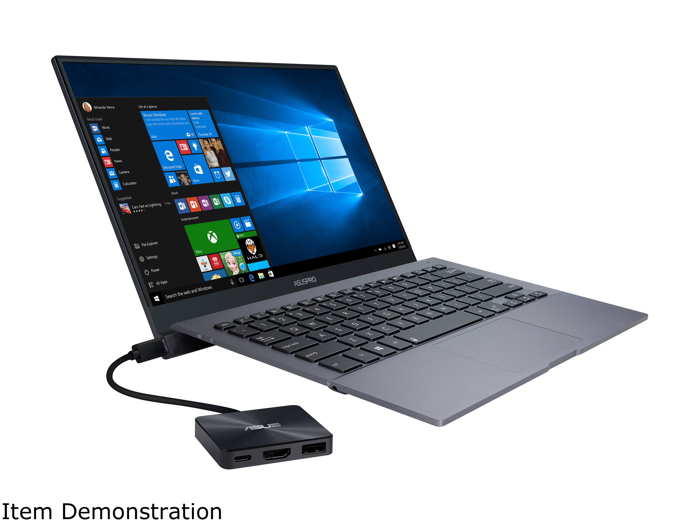 "ASUS PRO B9440 Ultra Thin and Light Business Laptop, 14"" Wideview Full HD Narrow Bezel Display, Intel Core i5-7200U 2.5 GHz Processor, 512GB SSD, 8GB RAM, Windows 10 Pro, Fingerprint, 10hrs battery life"