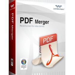 Wondershare PDF Merger (PDFelement) - Easily Merge PDF Files.