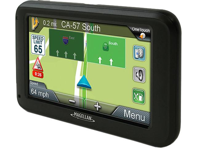 "MAGELLAN 5.0"" RoadMate 5375T-LMB 5"" GPS Device with Bluetooth & Free Lifetime Map & Traffic Alert Updates"