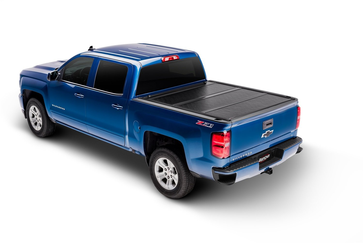 UnderCover FX11018 Flex Hard Folding Truck Bed Cover 2014-2017 Silverado/Sierra 1500 5.7ft Short Bed Crew/Ext