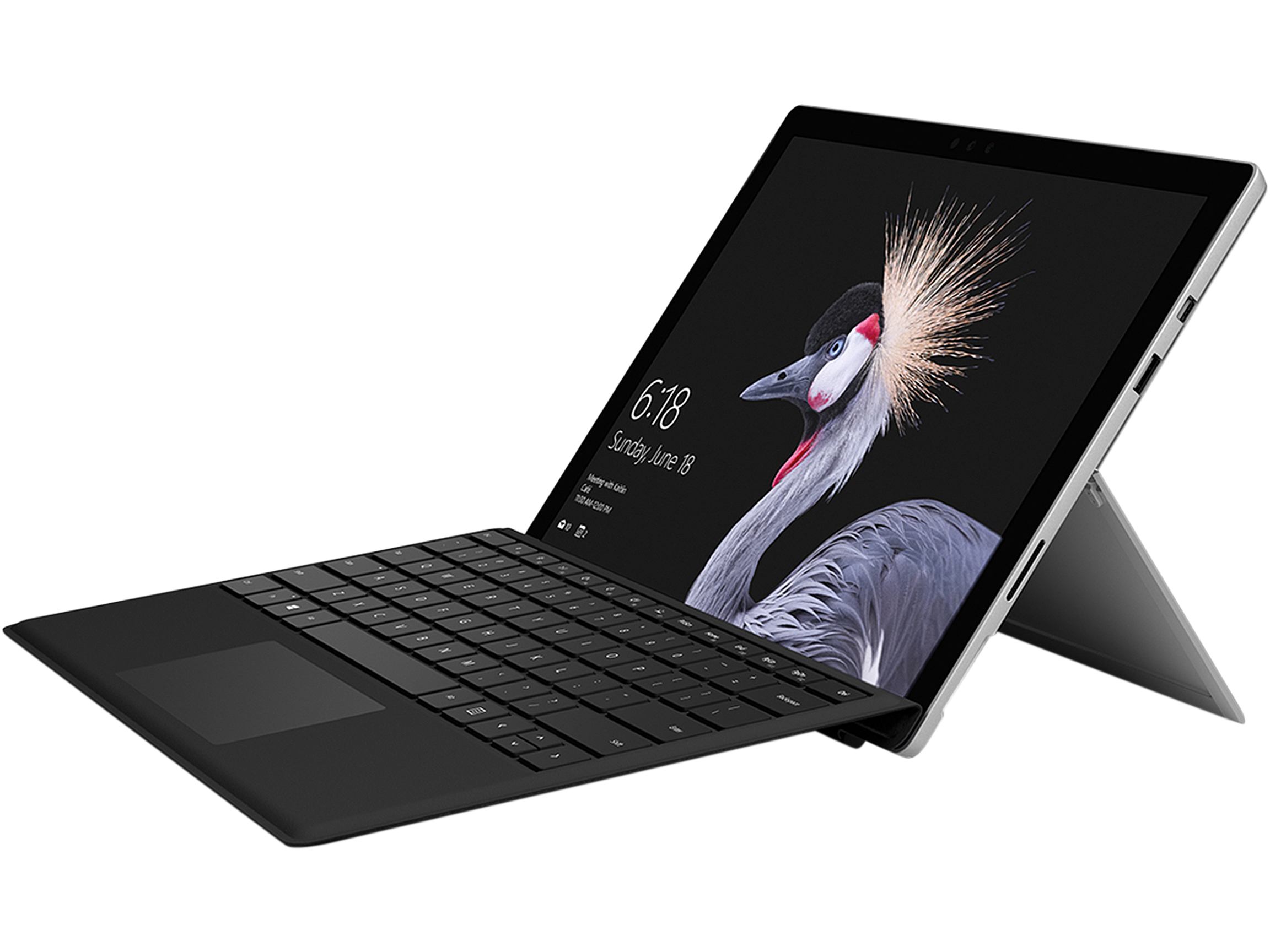 "Refurbished: Microsoft Surface 3 7GM-00001 Intel Atom x7-Z8700 (1.60 GHz) 4 GB LPDDR3 Memory 128 GB SSD 10.8"" 1920 x 1280 Tablet PC - Tablets Windows 8.1 Pro 64-Bit Silver"