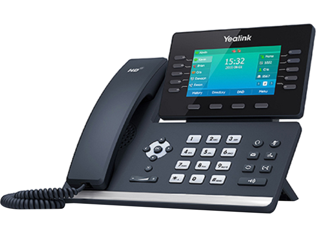 Yealink YEA-SIP-T54S Media IP Phone with Gigabit Ethernet Technology