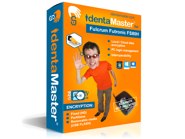 Biometric Security Software for Fulcrum Futronic FS80H ( Software Only)