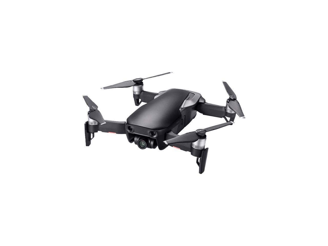 DJI MAVIC AIR Fly More Combo (NA) Portable Collapsible Quadcopter Drone, 3-Axis Gimbal with 4K, 32MP Camera - Onyx Black
