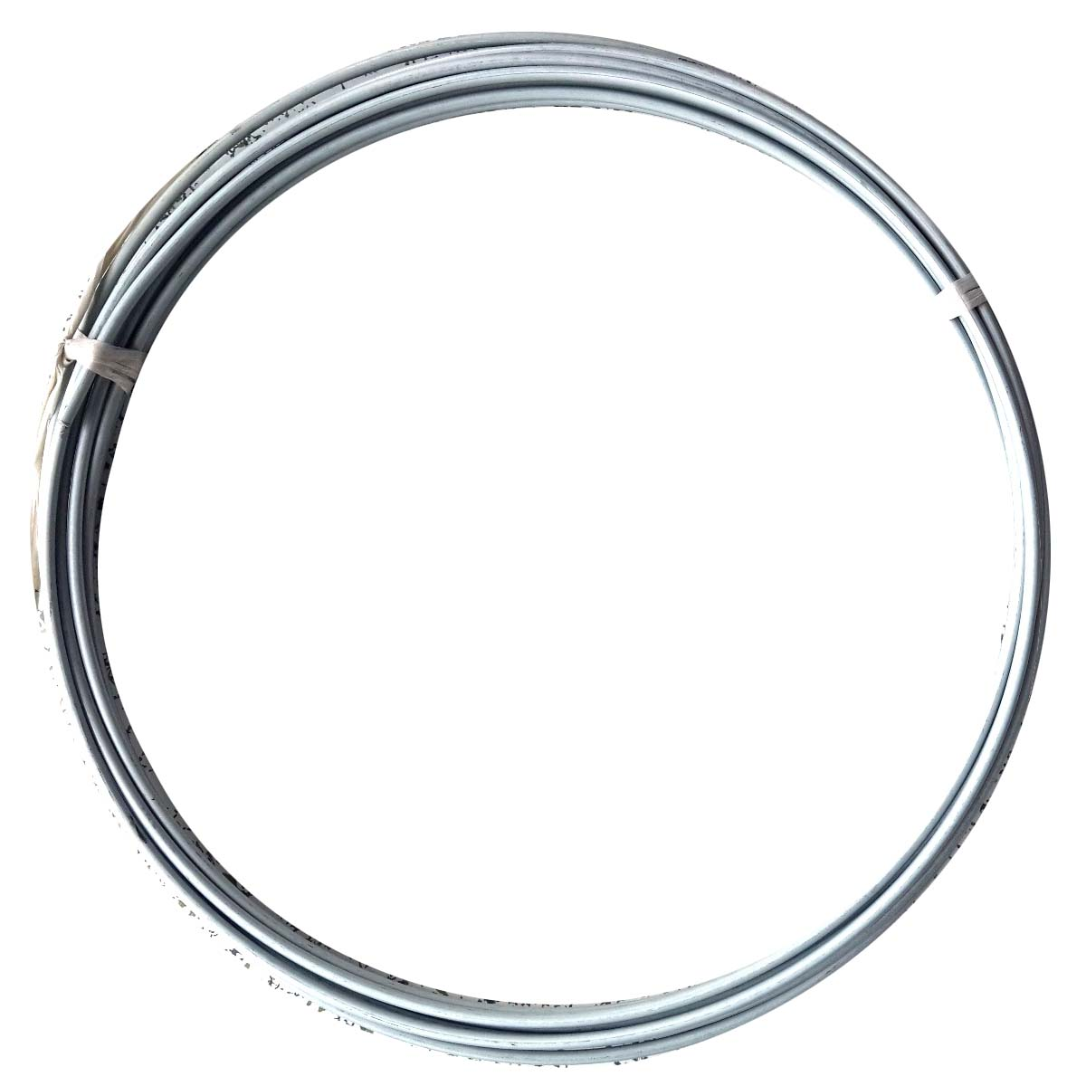 "4.76mm 3/16"" OD Steel brake line tubing coil zinc plated silver color"
