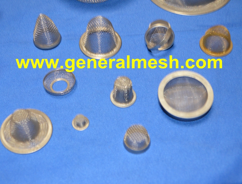 generalmesh Copper or Brass Mesh Strainer cap,water pump inlet strainer,TANK SCREEN COVERS