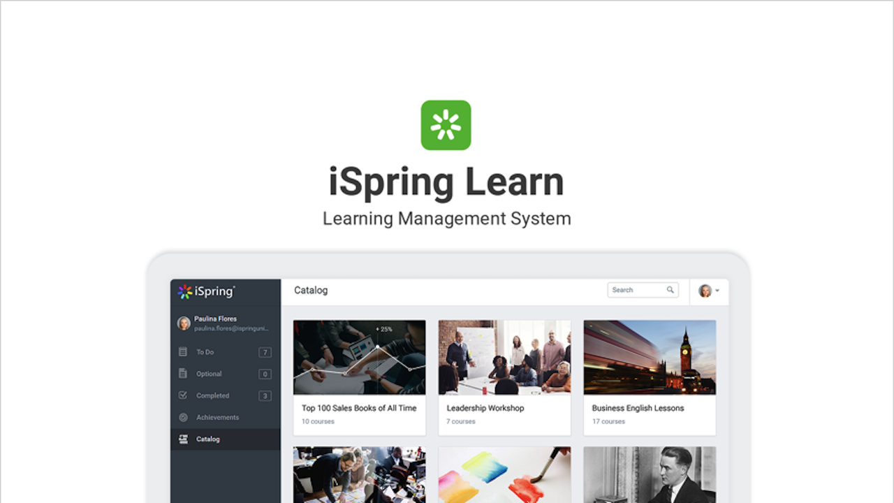 iSpring Suite 9.7 subscription-based pricing model, 1-year subscription plan